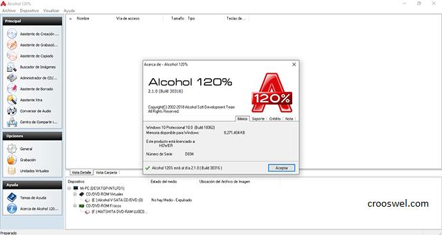 descargar alcohol 120 2020