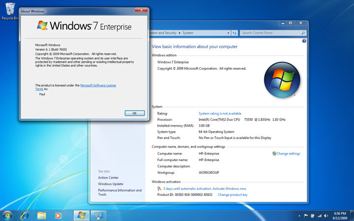 Descargar Windows 7