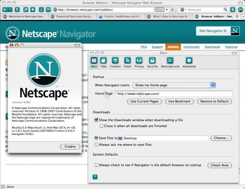 Descargar Netscape ESP 7.0