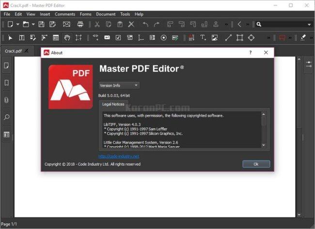 Descargar Master PDF Editor 2019 v5.4.38 Portable [Full Español] - Descargas gratis de programas