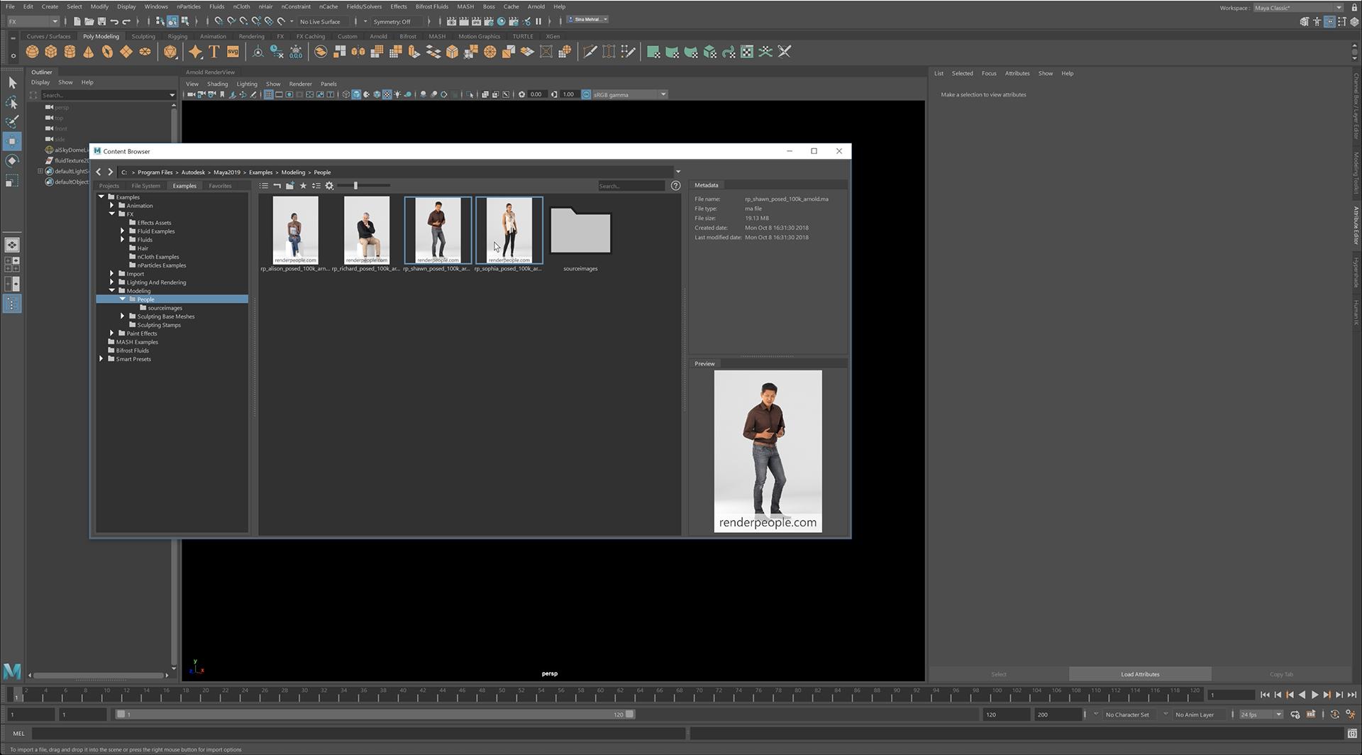 descargar Autodesk Maya 2019