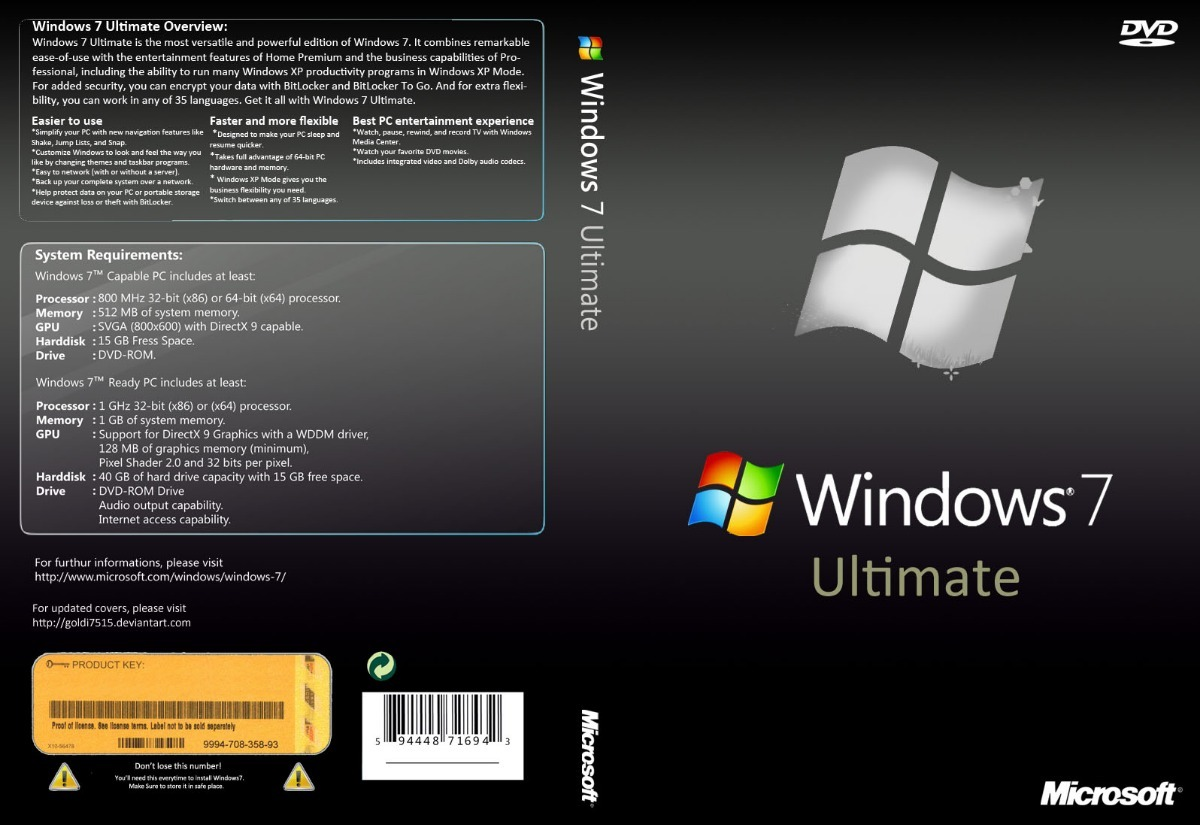 Descargar Windows 7 SP1 Ultimate