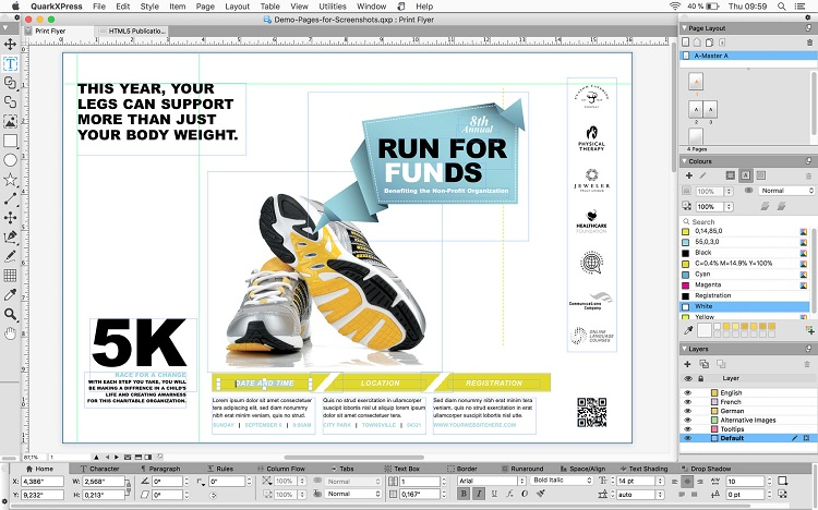 Descragar QuarkXPress