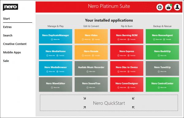 Nero Platinum 2020 Suite v22