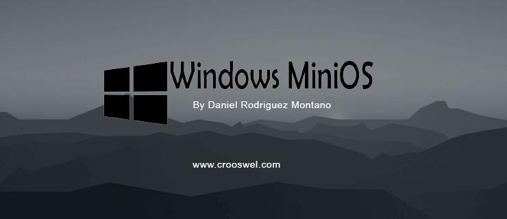 Windows-MiniOS-2017.09