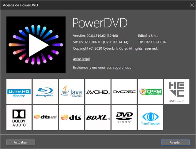 descargar cyberlink powerdvd 2020 full