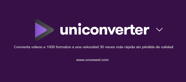 wondershare uniconverter descargar gratis