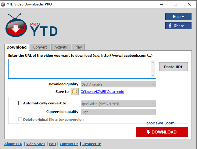ytd video downloader pro 4.9 crack & serial key