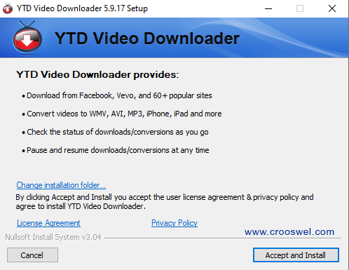 ytd video downloader pro full + patch + crack